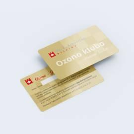Plastikinės VIP kortelės