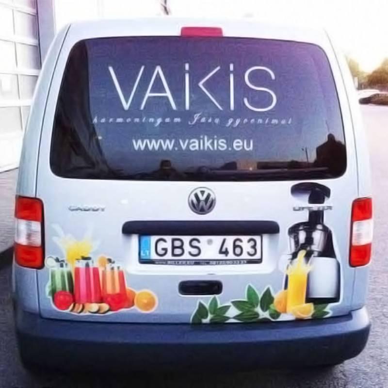 AUTOMOBILIO APIPAVIDALINIMAS / VAIKIS